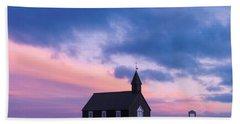 Budir Black Church Beach Sheet