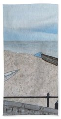 Budleigh Beach Sheet by Tamara Savchenko