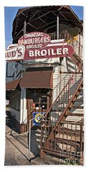 Bud's Broiler New Orleans Beach Sheet by Kathleen K Parker