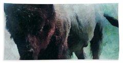 Buffalo American Bison Beach Sheet