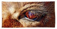 Buffalo Eye Reflection Beach Sheet