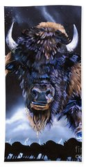 Buffalo Medicine Beach Towel