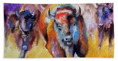 Buffalo Run 16 Beach Towel
