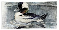 Bufflehead Beach Towel