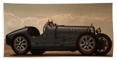 Bugatti Type 35 1924 Mixed Media Beach Towel