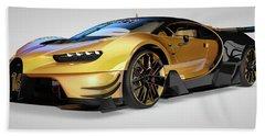 Bugatti Vision Gran Turismo Beach Sheet
