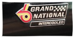 Buick Grand National Emblem Beach Towel
