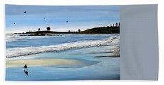 Bull Beach 2 Beach Sheet by Marilyn McNish