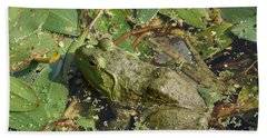 Bullfrog #2 Beach Towel