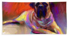Mastiff Beach Towels