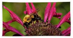 Bumble Bee Beach Sheet