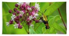 Bumblebee Moth 153 Beach Sheet