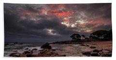 Bunbker Bay Dawn Beach Towel