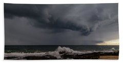 Bunbury Storm Clouds Beach Sheet