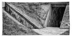 Bunkers At Foort Pulasi Beach Towel