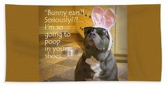 Bunny Ears? Beach Sheet