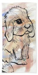 Bunny Love Beach Towel