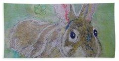 bunny named Rocket Beach Towel