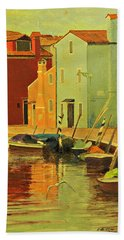 Burano, Italy - Study Beach Sheet