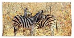 Burchells Zebras Beach Towel
