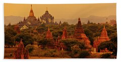 Burma_d2136 Beach Towel by Craig Lovell