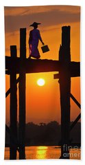 Burma_d807 Beach Towel by Craig Lovell