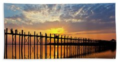 Burma_d819 Beach Towel