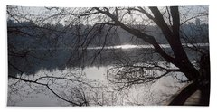 Beach Towel featuring the photograph Burnaby Walk by Kim Prowse