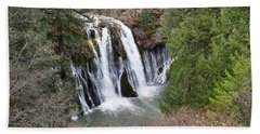 Burney Falls Beach Towel