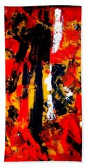 Burning Bright Beach Towel