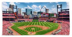Busch Stadium Section 249 Beach Towel