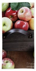 Bushel Of Apples  Beach Towel by Stephanie Frey