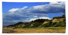 Beach Sheet featuring the photograph Bushy Beach by Nareeta Martin