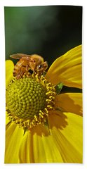 Busy Bee Beach Towel