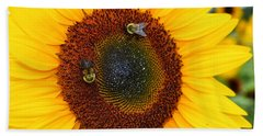Busy Bees  Beach Sheet