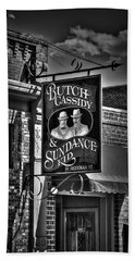 Butch Cassidy And The Sundance Kid Beach Sheet by Deborah Klubertanz