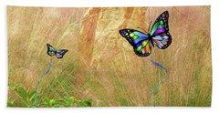Buterflies Dream Beach Towel