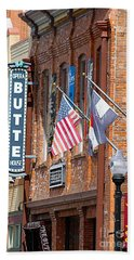 Butte Opera House In Colorado Beach Sheet