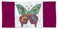 Butterflies Are Free Beach Sheet