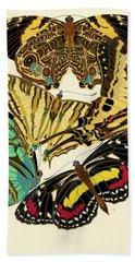 Butterflies, Plate-5 Beach Towel