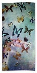Butterflies Reborn Beach Sheet