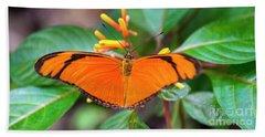 Butterfly #2017 Beach Sheet by Chuck Flewelling