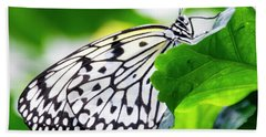 Butterfly #2025 Beach Towel by Chuck Flewelling