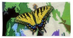 Butterfly #3 Beach Towel