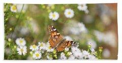 Butterfly #8 Beach Sheet