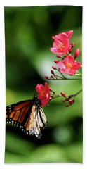Butterfly And Blossom Beach Towel