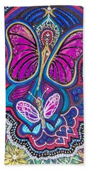 Butterfly Angels Beach Towel