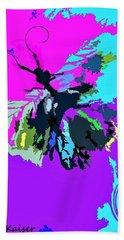 Butterfly Art By Lisa Kaiser Beach Sheet