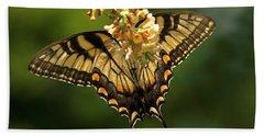 Butterfly Beauty Beach Towel by Elsa Marie Santoro