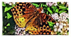 Butterfly Beauty Beach Towel